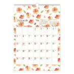 2020 年 カレンダー nami nami 壁掛けカレンダー A3サイズ クローズピン 29.7×42cm イラスト ガーリー