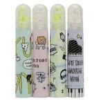 鉛筆キャップ 香り玉MIX4 えんぴつカバー 4本セット レモン&ピーチ ラクガキ クラックス 文具