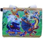 クリップ ポケットポーチ ショルダー付き 移動ポケット モンスターハンター ストーリーズ モンハン RIDE ON サンアート 14.5×11cm ポシェット