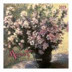 クロードモネ カレンダー 2019年 壁掛け カレンダー TUSHITA CLAUDE MONET Blossoms & Flowers アート 名画 30×60cm 海外 輸入 インテリア