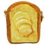 ショッピングポシェット ポシェット まるでパンみたいな ショルダーポーチ2 たっぷりバタートースト ケイカンパニー