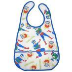 ショッピング雑貨 ビニールベビービブ 赤ちゃん 食事用 エプロン 変身 クレヨンしんちゃん スモールプラネット 食べこぼしキャッチポケット付き