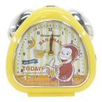 目覚まし時計 おむすび クロック おさるのジョージ バナナ ティーズファクトリー 置き時計 女の子 インテリア 雑貨