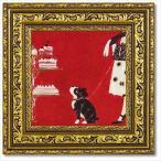 動物画 アートフレーム ドミンゲス いぬ雑貨 ショー S ユーパワー 27×27cm