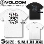 ボルコム Tシャツ メンズ VOLCOM 半袖 サーフブランド バックプリント 大きいサイズ Sサイズ XXL 3Lサイズ 白 ホワイト 黒 ブラック AF012009
