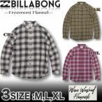 ビラボン BILLABONT メンズ ネルシャツ チェック柄 サーフブランド アウトレット AH012-102