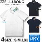 BILLABONG ビラボン メンズ 鹿の子 ポロシャツ 衿裏ロゴ アウトレット サーフブランド AJ011-170
