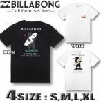 ビラボン Tシャツ メンズ サーフブランド BILLABONG バックプリント 半袖 白 ホワイト 黒 ブラック S M L XLサイズ  BA011-230