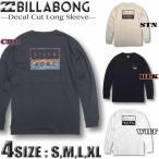 ビラボン ロンT メンズ BILLABONG 長袖 Tシャツ バックプリント サーフブランド BA012-050