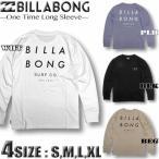 ビラボン ロンT メンズ BILLABONG 長袖 Tシャツ バックプリント サーフブランド BA012-051