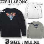 ビラボン ロンT メンズ サーフブランド BILLABONG 長袖 Tシャツ ロングスリーブ バックプリント BB011-051