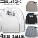 ビラボン ロンT メンズ BILLABONG 長袖 Tシャツ バックプリント サーフブランド BB012-055
