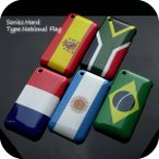 iPhone3G/3GSケースカバーハードケースNATIONAL FLAG