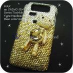 iPhone5/5S/5C ケースカバー豪華スワロフスキーデコ電MAXBEAR-LUX-IP5
