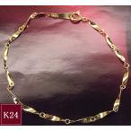 純金 K24 デザイン ブレスレット アクセサリー 3営業日前後の発送予定