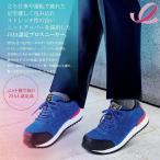 ミドリ安全 女性用安全作業靴  MWJ-710 ブラック/ブルー [ワーク女子力 レディース 女性向け 先芯入り]