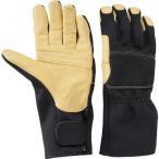 トンボレックス ケブラー(R) 繊維製防火手袋 防水タイプ K-TFG8BK S〜3L 立体形状 フィット感