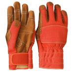 トンボレックス ケブラー(R) 繊維製 防火手袋 K-TFG5R オレンジ SS〜3L