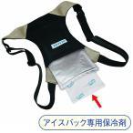 ミドリ安全 熱中対策 涼感グッズ アイスバックII専用保冷剤セット ジェルX1 アルミ袋X2袋