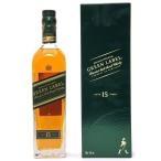 ジョニー ウォーカー グリーンラベル 15年 43度 箱付 700ml 正規品 スコッチウイスキー ^YCJWGRJ0^