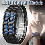 Yahoo!Relieve腕時計 デジタル メンズ 激安 LED レディースブレスレット バングル 文字盤レス デジタルウォッチ 男女兼用 スタイリッシュ シンプル ファッション時計