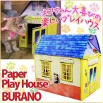 猫 ダンボールハウス ペーパープレイハウス ブラーノ ネコ 猫用 ペット キャット 猫用品 家 小屋 紙 猫のハウス 猫の家 おもちゃ キャットハウス