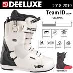 ショッピングスノー スノーボード ブーツ 靴 18-19 DEELUXE ディーラックス ID 7.1 TF アイディー7.1