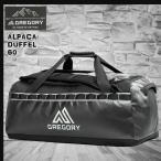 ショッピングダッフル GREGORY(グレゴリー) 新ロゴマーク!  ALPACA DUFFLE 60L TRU BLK アルパカダッフル 60L トゥルーブラック /659240651
