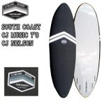 S# THUNDERBOLT(サンダーボルト) SOUTH COAST CJ MUSIC 7'0 CJ NELSON ソフトボード フィン付き!トンビ製