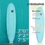 SIDE WAYS SURF(サイドウェイサーフ) Bullet バレット ファンボード GREEN フィン付き!