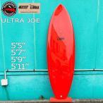 サーフボード ショートボード 正規品 20 THUNDERBOLT サンダーボルト アルメリック ULTRA JOE Xeon Carbon RED FCS2 TRI FIN トンビ製