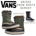 ショッピングVans スノーブーツ 雪靴 バンズ ヴァンズ メンズ レディース ユニセックス VANS SNOW BOOTS REMEDY