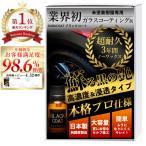 ガラコート 未塗装樹脂 専用 ガラスコーティング剤 ブラックコート マイクロファイバークロス コーティングスポンジ 付属