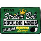 ボーリング柄 フロアマット 玄関マット Striker Bob アメリカンポップ系 アメリカ 雑貨 アメリカン雑貨