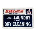 ランドリー フロアマット 玄関マット LANDRY AND DRY CLEANING アメリカ 雑貨 アメリカン雑貨