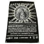サンタ・ムエルテ 死の聖人 フラッグ 約118×76センチ アメリカ 雑貨 アメリカン雑貨