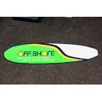 OFF SHORE(サーフブランド) サーフボード型 ロゴ柄 フロアマット アメリカ 雑貨 アメリカン雑貨