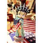 ベティちゃん フィギュア 自由の女神 高さ約36センチ レジン製 Betty Boop アメリカ 雑貨 アメリカン雑貨