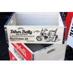 ベティちゃん 木箱 Mサイズ バイカー Betty Boop ウッドボックス