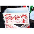 ベティちゃん 木箱 Lサイズ Boop's Cola Betty Boop ウッドボックス