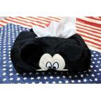 ミッキーマウス&ミニーマウス ティッシュケースカバー もこもこ素材 ディズニー