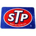 STP フロアマット ロゴ柄 玄関マットサイズ アメリカン雑貨