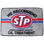 STP フロアマット ラベル柄 玄関マットサイズ アメリカン雑貨