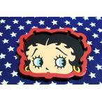 ベティ・ブープ ミニトレイ フェイス柄 ラバー製 Betty Boop