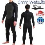 ウェットスーツ 5mm フルスーツ W FULL メンズ ウエットスーツ バックファスナー ロングファスナー ダイビング ダイビングスーツ
