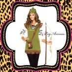 コスプレ衣装ハロウィン仮装コスチュームレディースLEG AVENUE(レッグアベニュー)LA85366ロビンフッド3点セット/BG50
