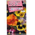 花の種 パンジー[F1 フリズルシズル ミックス] 30粒(メール便可能)