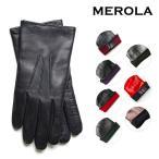 【MEROLA メローラ】手袋 グローブ メンズ ナッパレザーxカシミア 本皮 イタリア製 ハンドメイド ギフト プレゼント クリスマス