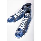 ルシアンペラフィネ lucien pellat-finet スニーカー ハイカット シューズ 靴 メンズ IHF62H ブルー迷彩 2016SS_SALE