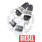 """ディーゼル DIESEL サンダル スリッパ シューズ 靴 """"ICON"""" FREESTYLE - slide メンズ Y00434 P1065 ブラック×ホワイト ホワイト×ブラック 限定送料無料"""